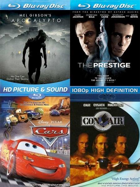 40% Off Blu-ray Movies