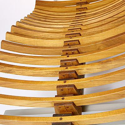Teak Wood Chaise