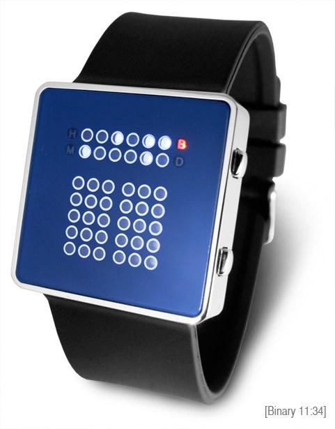 Tibida Binary LED Watch