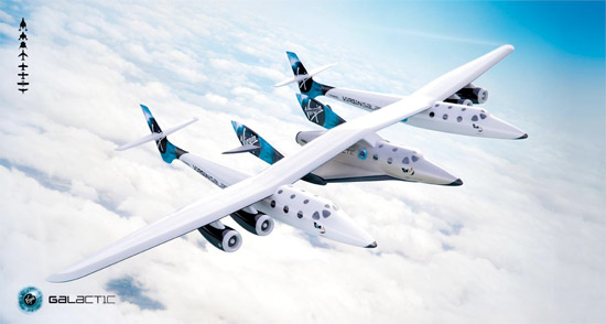 Virgin Galactic's EVE