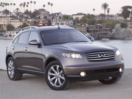 2006 Infiniti FX45: $20,800; 6-month price drop: $9,200; MPG: 18 hwy/14 city