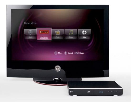 LG: Blu-Ray & Netflix