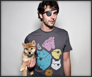 Animals With Eyepatches Tee