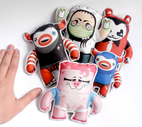 Postdesigner Monster Plushes