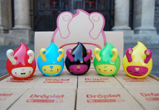 Droplet Vinyl Toys