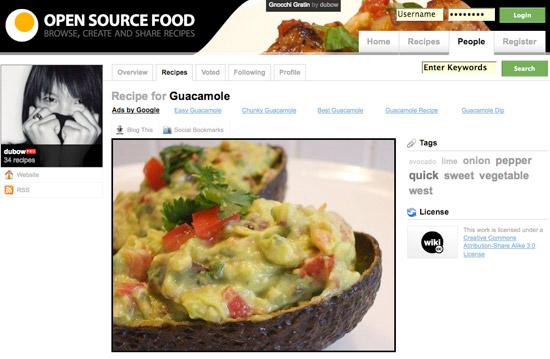 Open Source Food