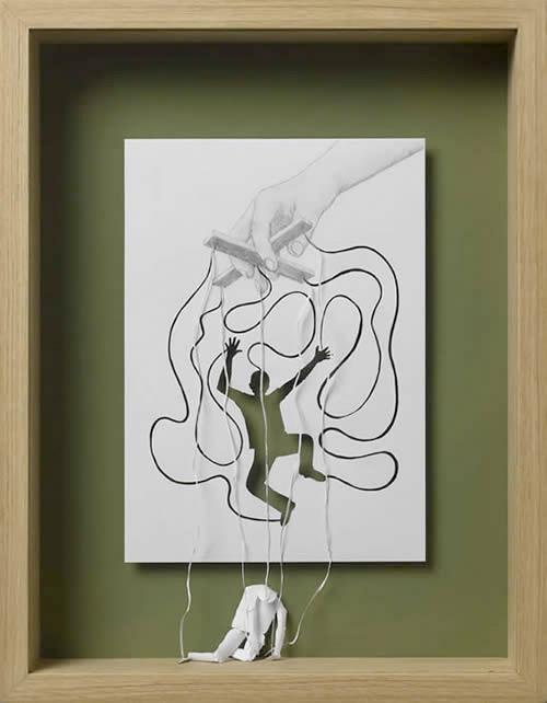Callesen's Papercut Art