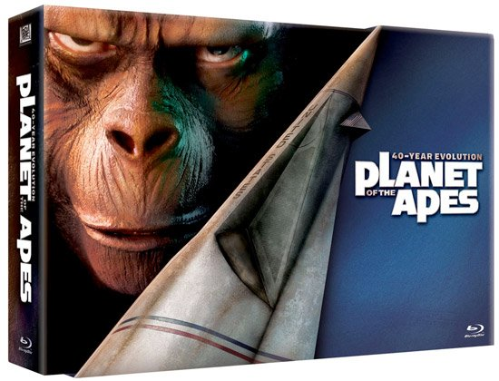 Planet of the Apes Evolution