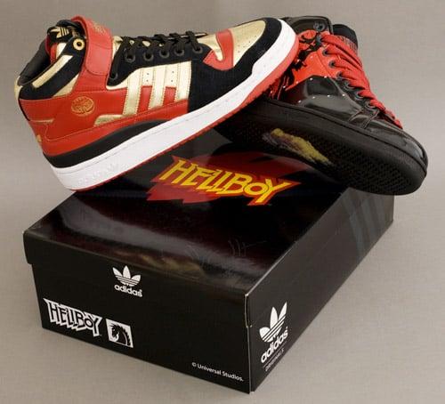 Hellboy's Adidas Kicks