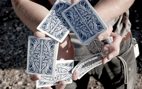 David Blaine Split Spades
