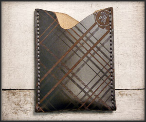 Makr Tonal Plaid Wallets