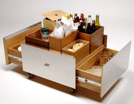 Isay Weinfeld's Mobile Bar