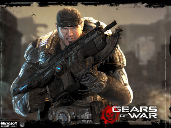 Gears of War 2 Lancer