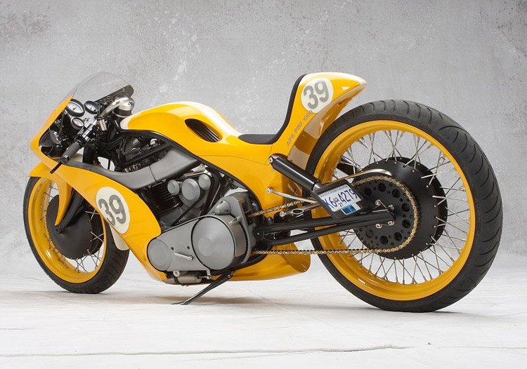 Goldmember Motorcycle