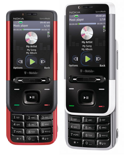 Nokia 5610 on T-Mobile