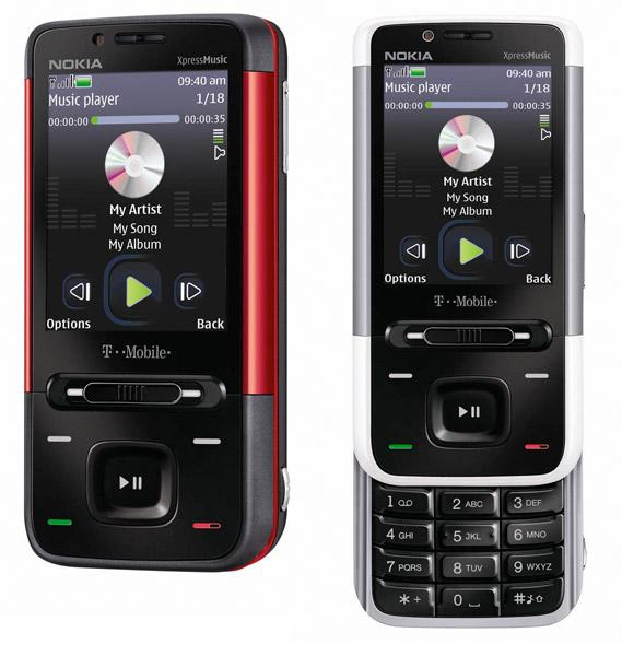 Nokia 5610 on T-Mobile