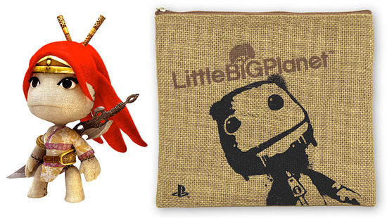 Little Big Planet Preorder: Nariko (Heavenly Sword) and Pouch