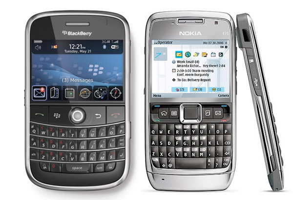 Nokia E71/Blackberry Bold