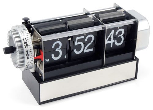 Exposed Flip Clock