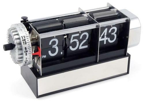 Exposed Flip Clock