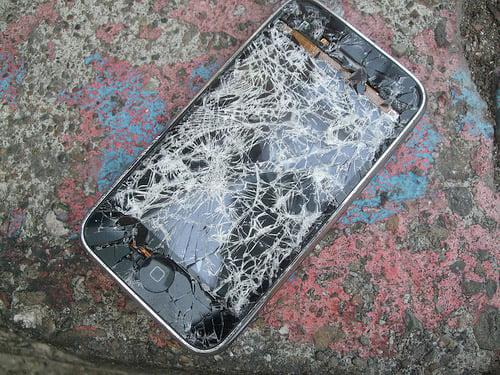 Broken iPhone 3G Gallery