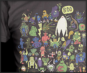 Monster Mash Collab Tee