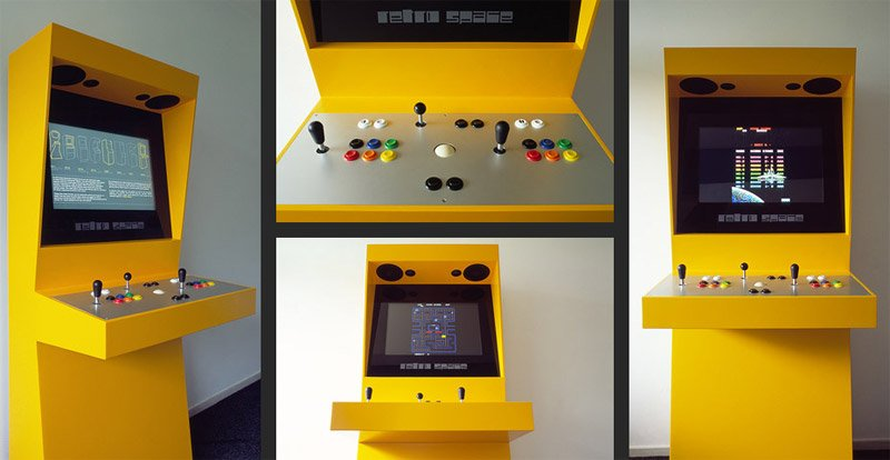 Retro Space Arcade Machine