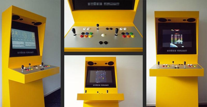 Retro Space Arcade Machine