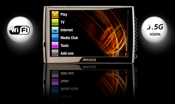 Archos 5 'Net Media Tablet