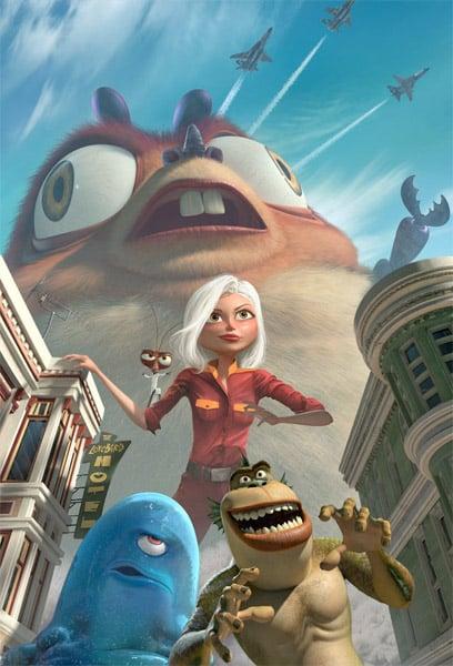 Trailer: Monsters vs. Aliens