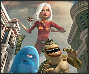 Trailer: Monsters vs. Aliens