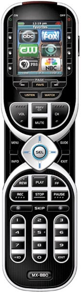 MX-880 Universal Remote
