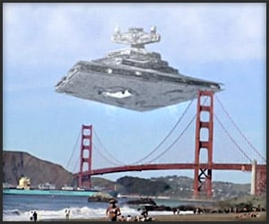Video: Star Wars Over SF