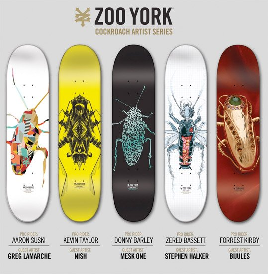 Zoo York Cockroach Boards