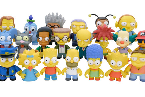 Simpsons Mini-Figures