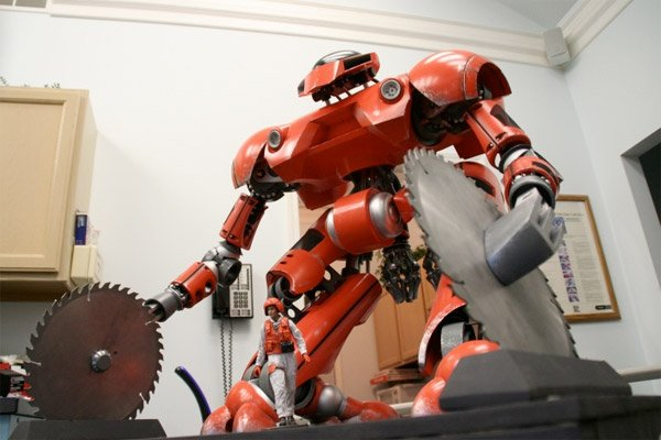 Forest Fire Robot