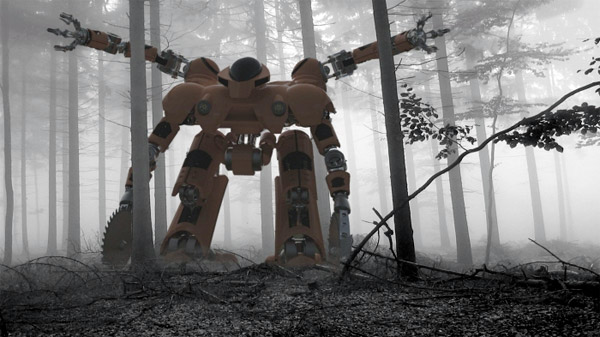 Forest Fire Robot