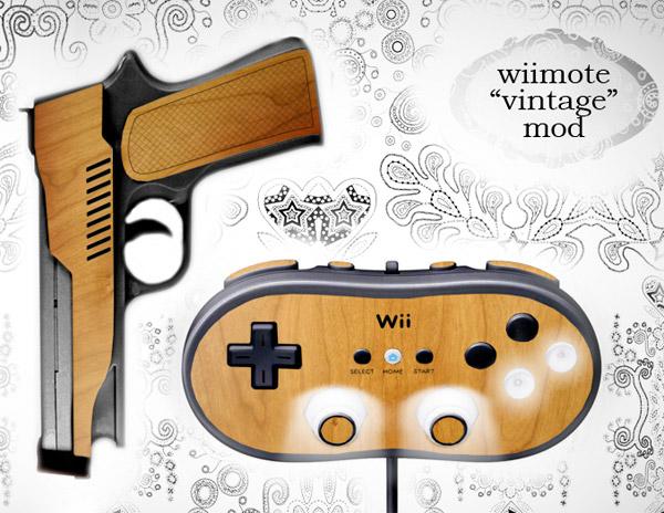 Concept: Vintage Wii Mod