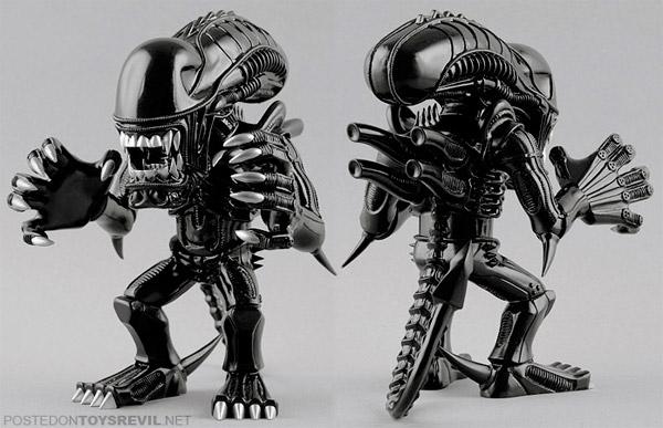 Warrior Alien Vinyl
