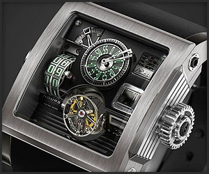 HD3 Vulcania Watch