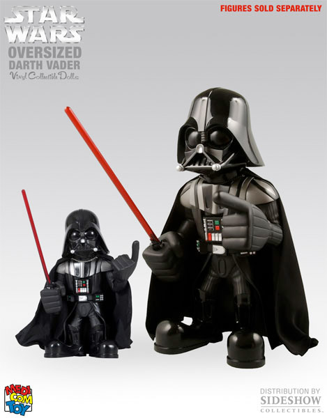 Oversized Darth Vader