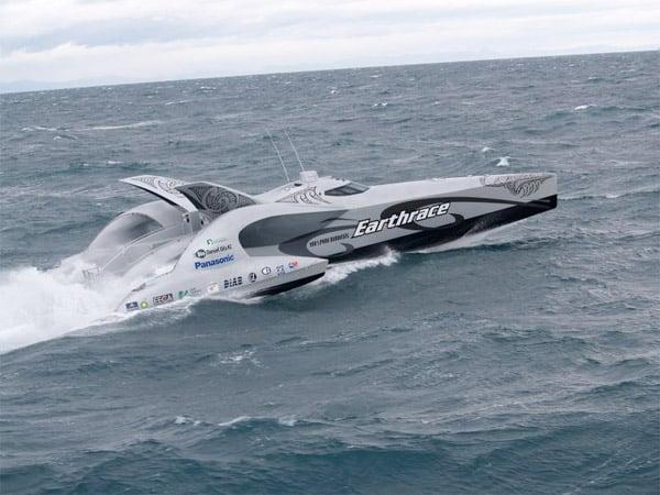 Earthrace Biodiesel Boat