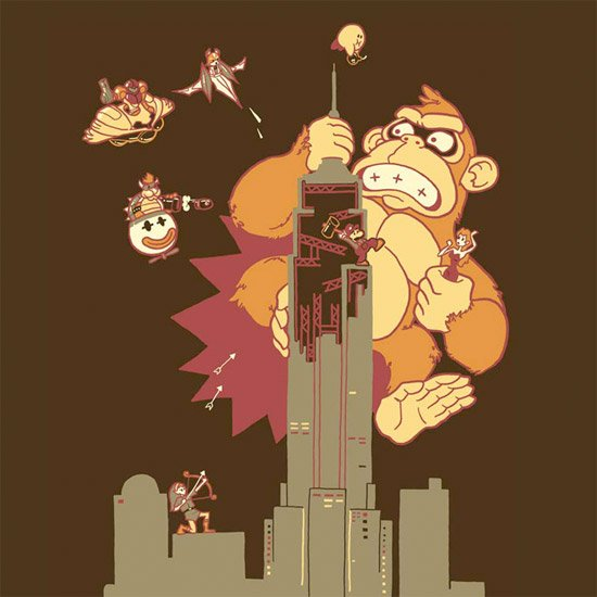 Mighty Kong Tee