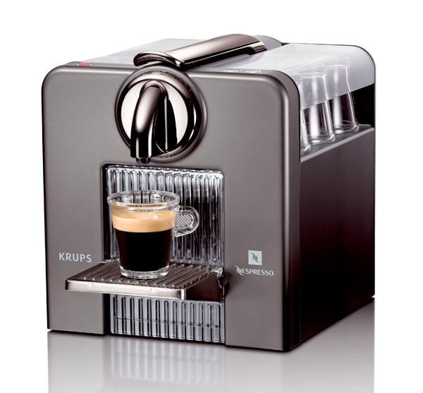 krups nespresso le cube the awesomer. Black Bedroom Furniture Sets. Home Design Ideas