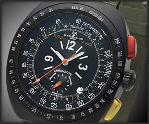 Black Avio Nato Watch