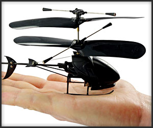 Video: Black Stealth Copter