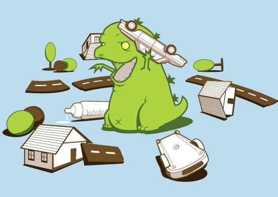 Baby Godzilla T-Shirt