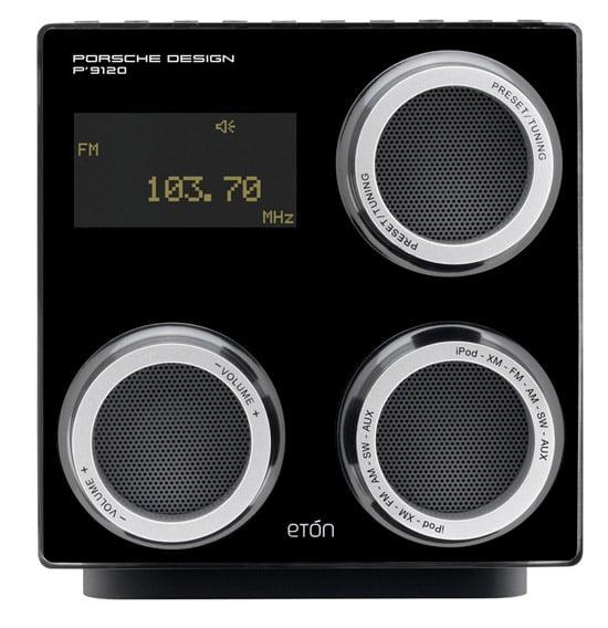 Porsche Eton Clock Radio