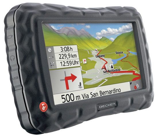 Becker Crocodile GPS