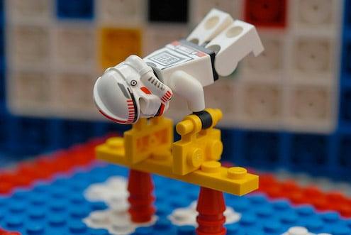 Lego Stormtrooper Olympics